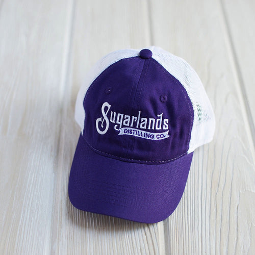 Purple Mesh Back Cap
