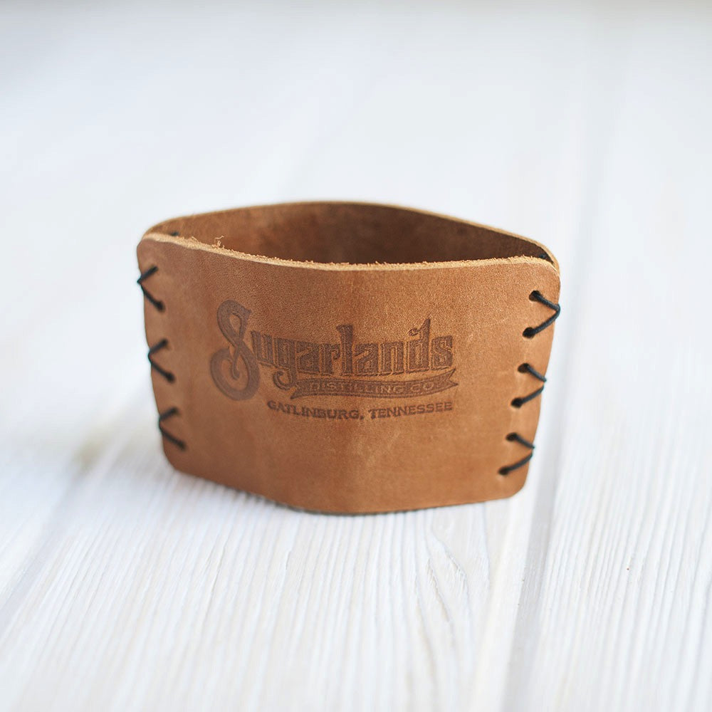 Leather Beverage Koozie