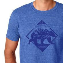 Smokies Strong Short Sleeve Shirt (Heathered Royal with Navy)