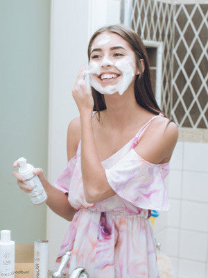 CleanseLXR for clean skin