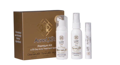 AcneLXR Premium Kit- 30 Day Supply