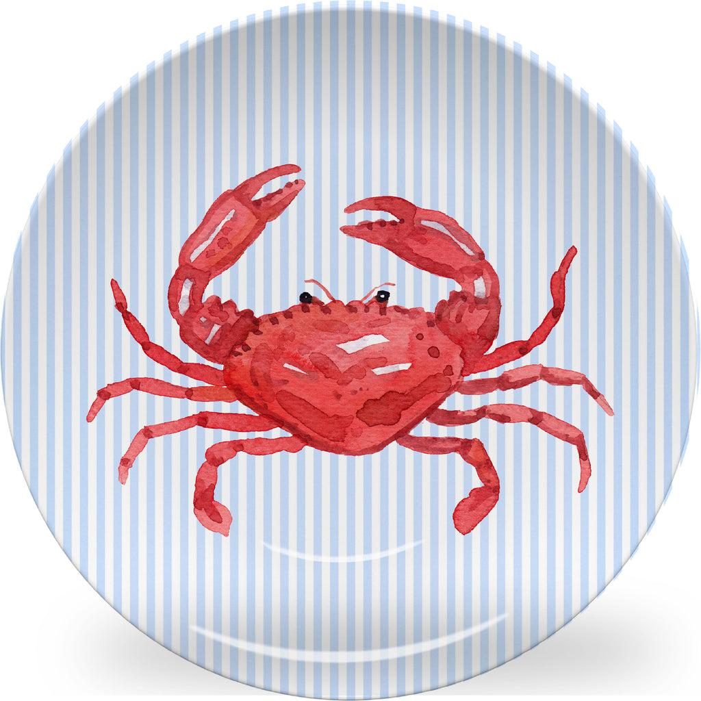 Luxury Crabby ThermoSāf® Plate, Platter And Bowl - Oven Safe, Microwave Safe, Dishwasher Safe, BPA Free!