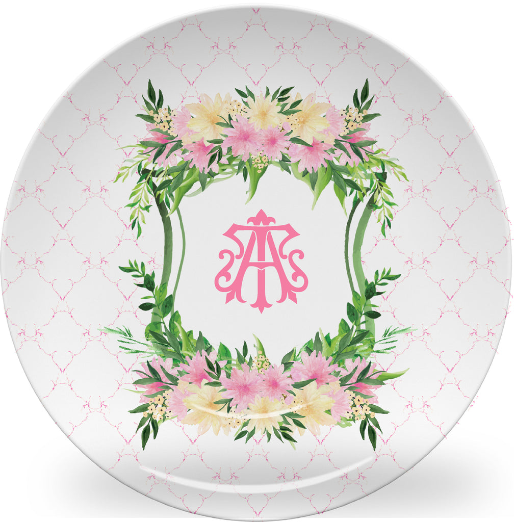 Luxury Mowfield Monogrammed Crest ThermoSāf® Plate and Platter - Oven Safe, Microwave Safe, Dishwasher Safe, BPA Free!