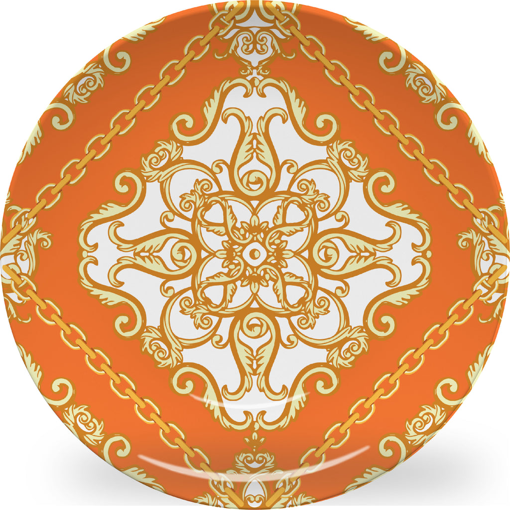 Luxury Scarf Chic ThermoSāf® Plate and Platter - Oven Safe, Microwave Safe, Dishwasher Safe, BPA Free!