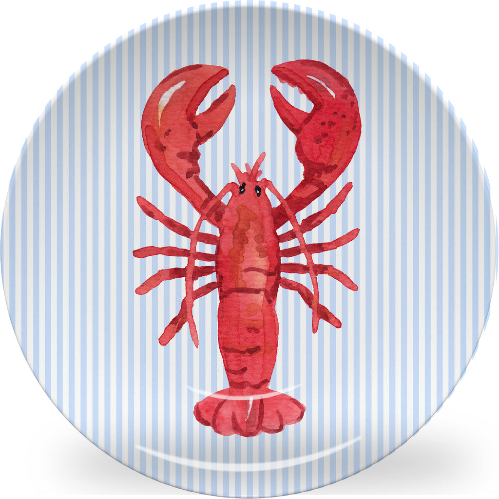 Luxury Lobstah ThermoSāf® Plate, Platter And Bowl - Oven Safe, Microwave Safe, Dishwasher Safe, BPA Free!