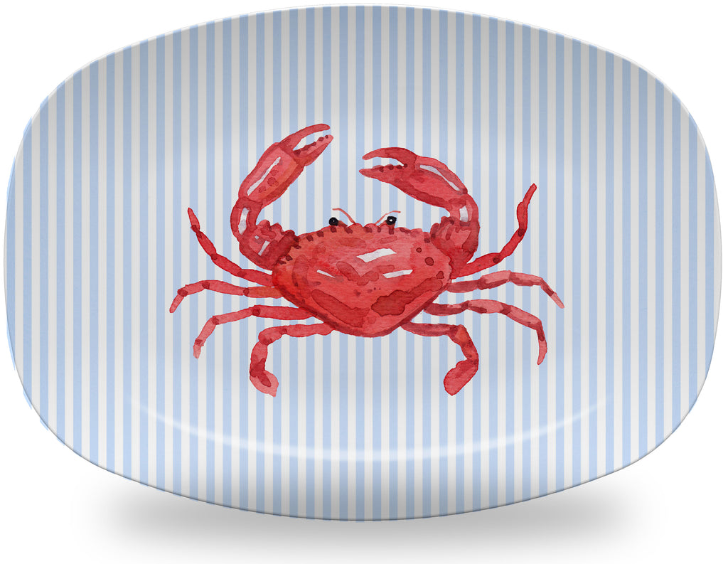 Luxury Crab ThermoSāf® Platter - Oven Safe, Microwave Safe, Dishwasher Safe, BPA Free!