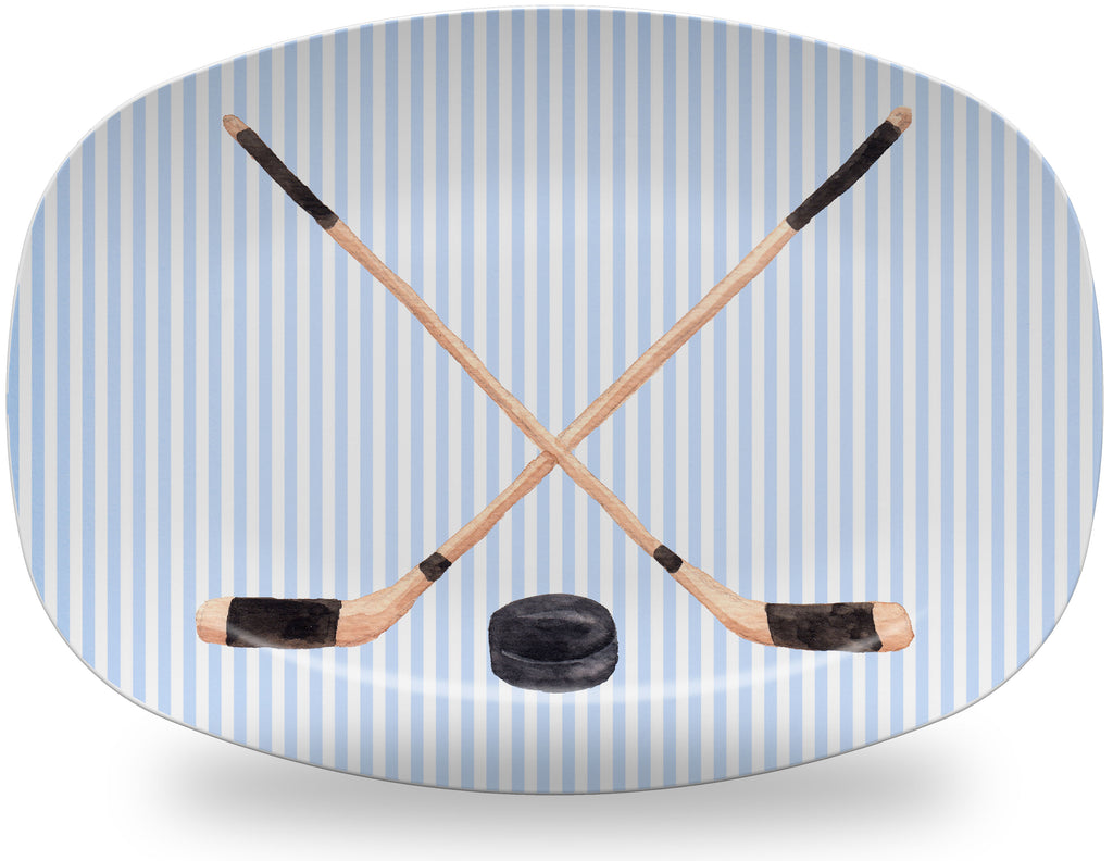 Luxury Hockey ThermoSāf® Plate and Platter - Oven Safe, Microwave Safe, Dishwasher Safe, BPA Free!