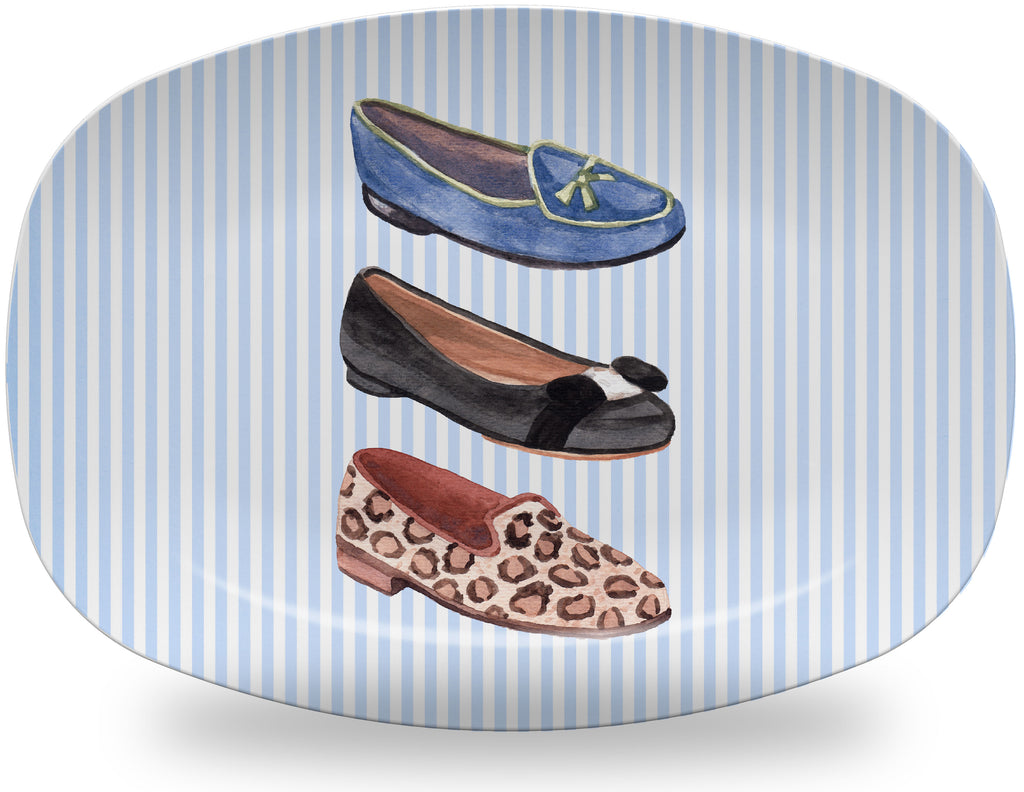 Luxury Shoe Addict ThermoSāf® Plate, Platter And Bowl - Oven Safe, Microwave Safe, Dishwasher Safe, BPA Free!