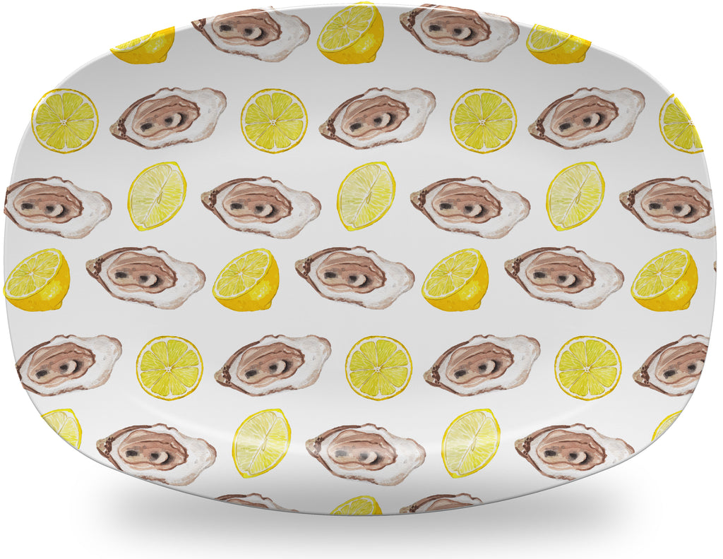 Luxury The World Is My Oyster ThermoSāf® Plate, Platter And Bowl - Oven Safe, Microwave Safe, Dishwasher Safe, BPA Free!
