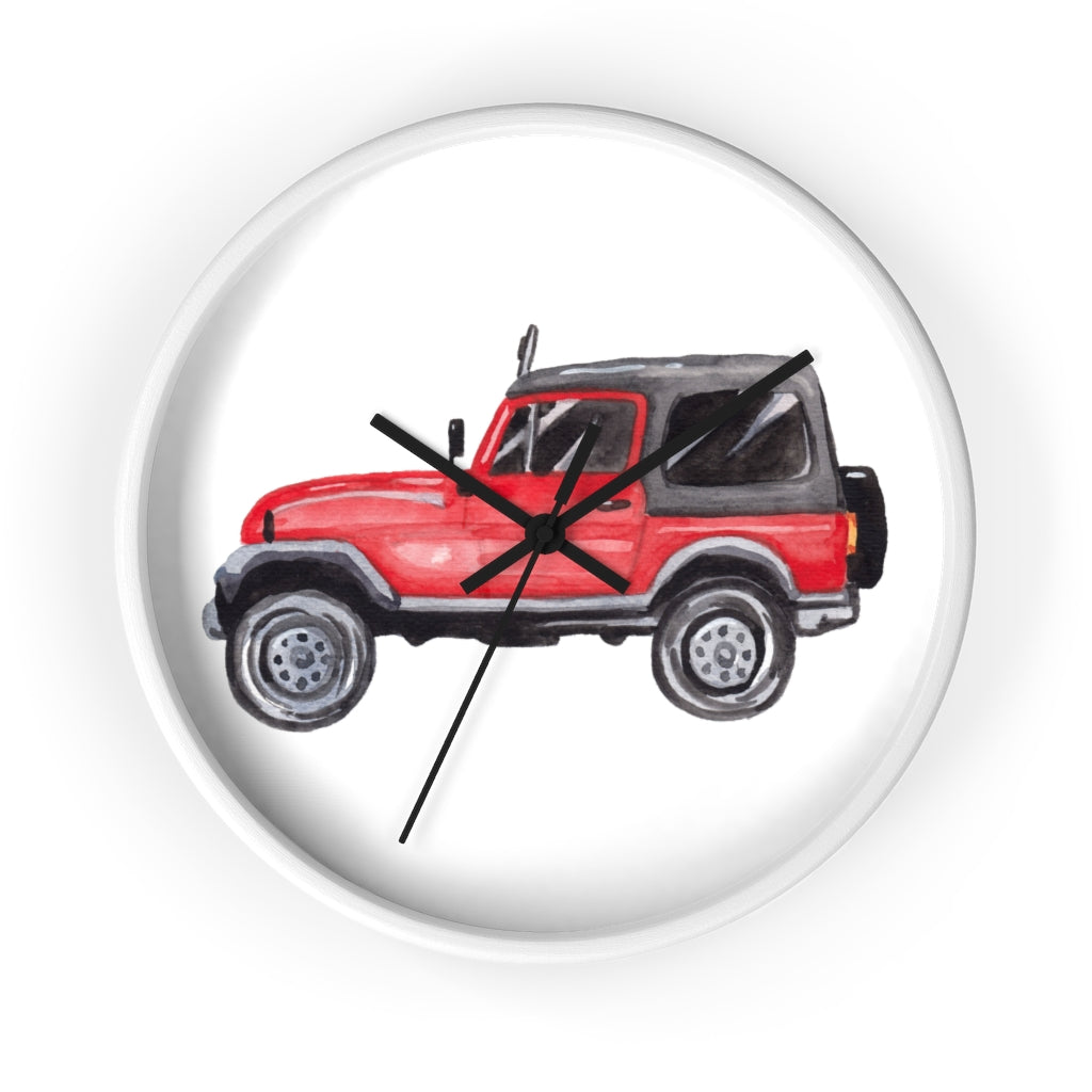Jeep Life Wall Clock