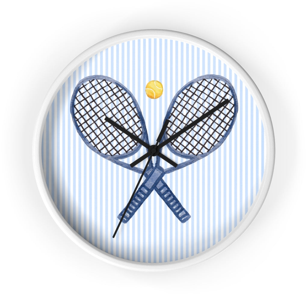 Tennis, Anyone? Wall Clock