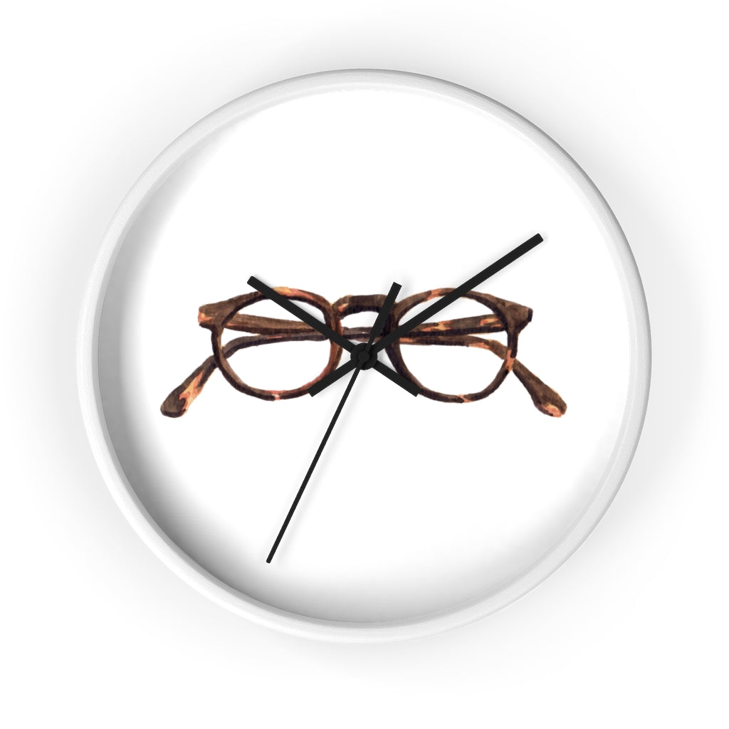 Tortoise Shell Wall Clock