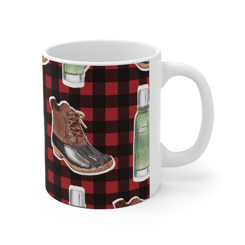 North Woods Ceramic Mug