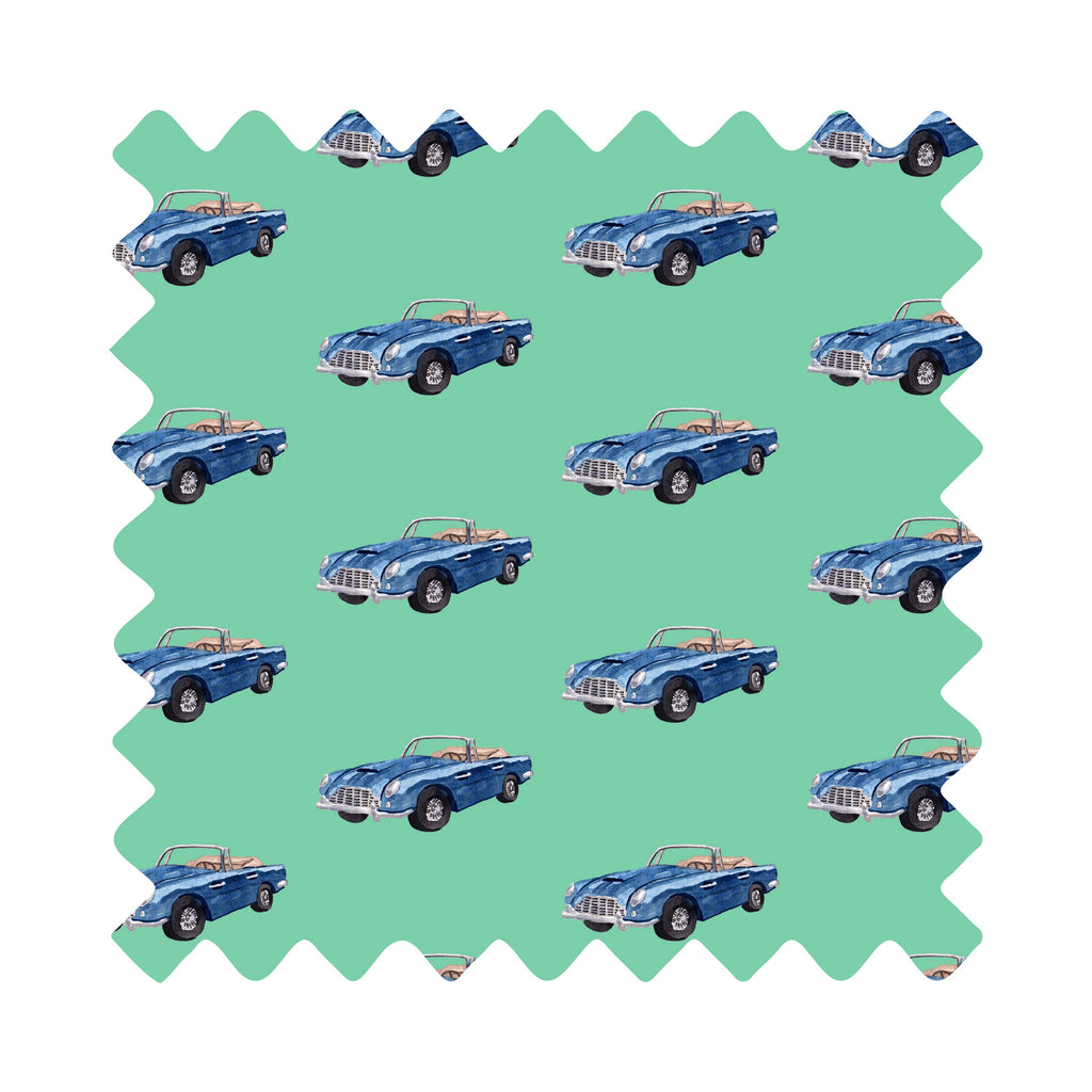 Sports Car Gift Wrapping Paper - Available In 5 Colors
