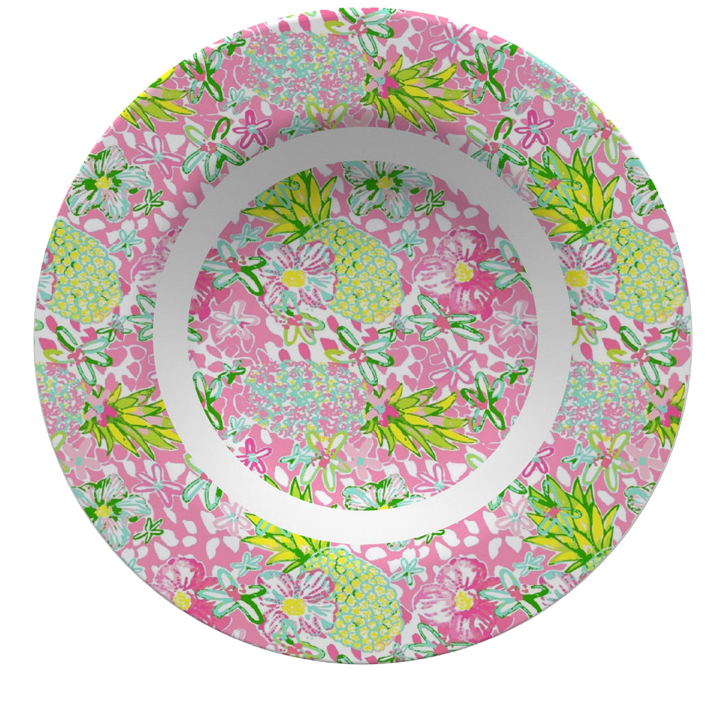 Luxury Bahama Mama ThermoSāf® Plate, Platter And Bowl - Oven Safe, Microwave Safe, Dishwasher Safe, BPA Free!