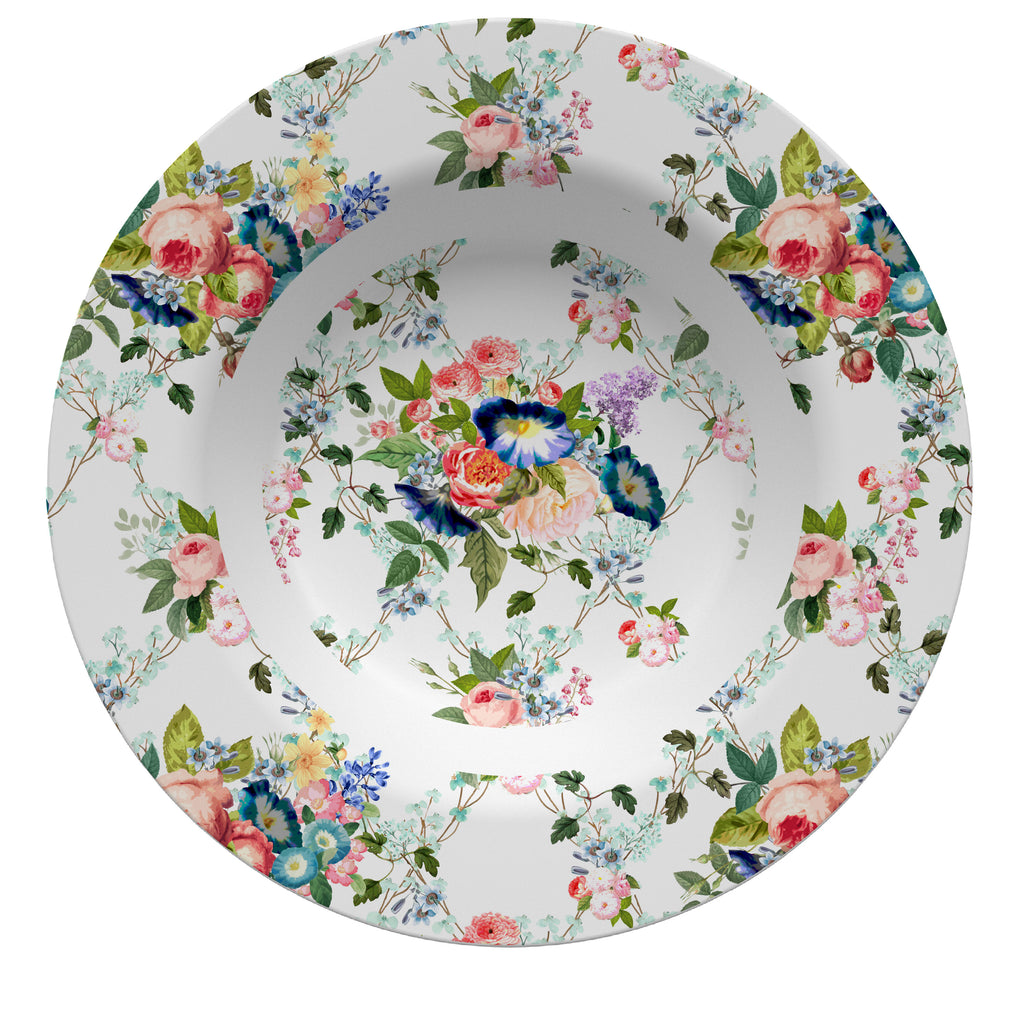 Luxury Beacon Hill Chintz ThermoSāf® Plate, Platter and Bowl - Oven Safe, Microwave Safe, Dishwasher Safe, BPA Free!