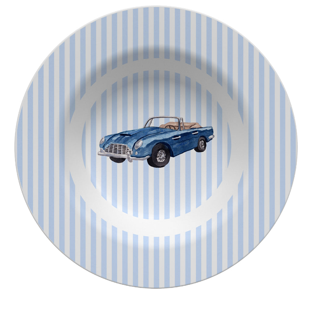 Luxury Sports Car ThermoSāf® Plate, Platter And Bowl - Oven Safe, Microwave Safe, Dishwasher Safe, BPA Free!
