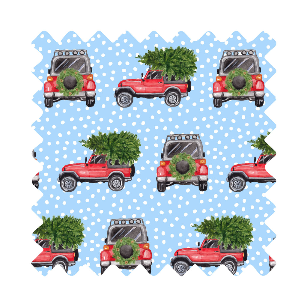 Christmas Jeep Life Gift Wrapping Paper