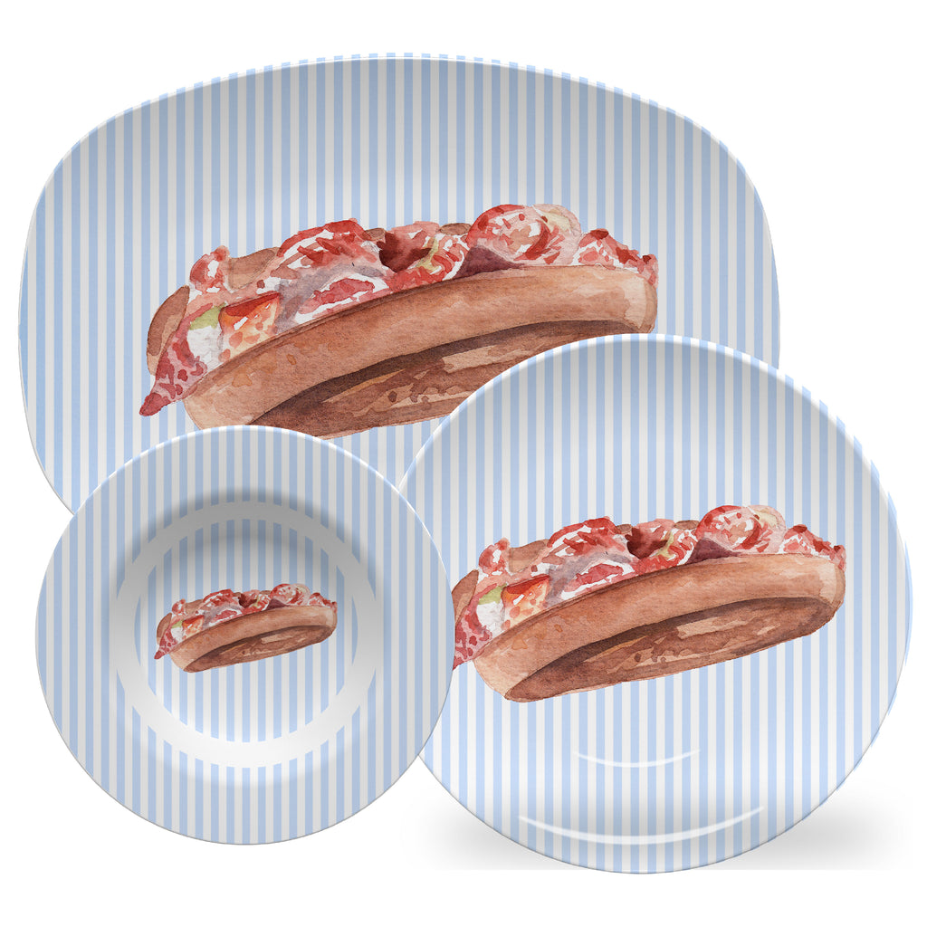 Luxury On A Roll ThermoSāf® Plate, Platter And Bowl - Oven Safe, Microwave Safe, Dishwasher Safe, BPA Free!
