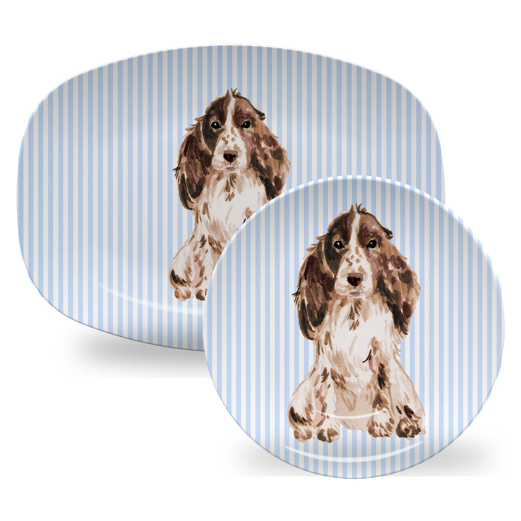 Luxury Choose Your Dog ThermoSāf® Plate, Platter And Bowl - Oven Safe, Microwave Safe, Dishwasher Safe, BPA Free!