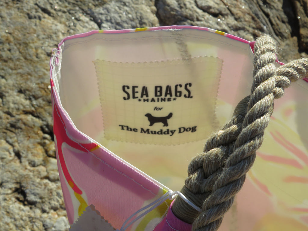 Sea Bags x The Muddy Dog Tisbury Recycled Sail Tote