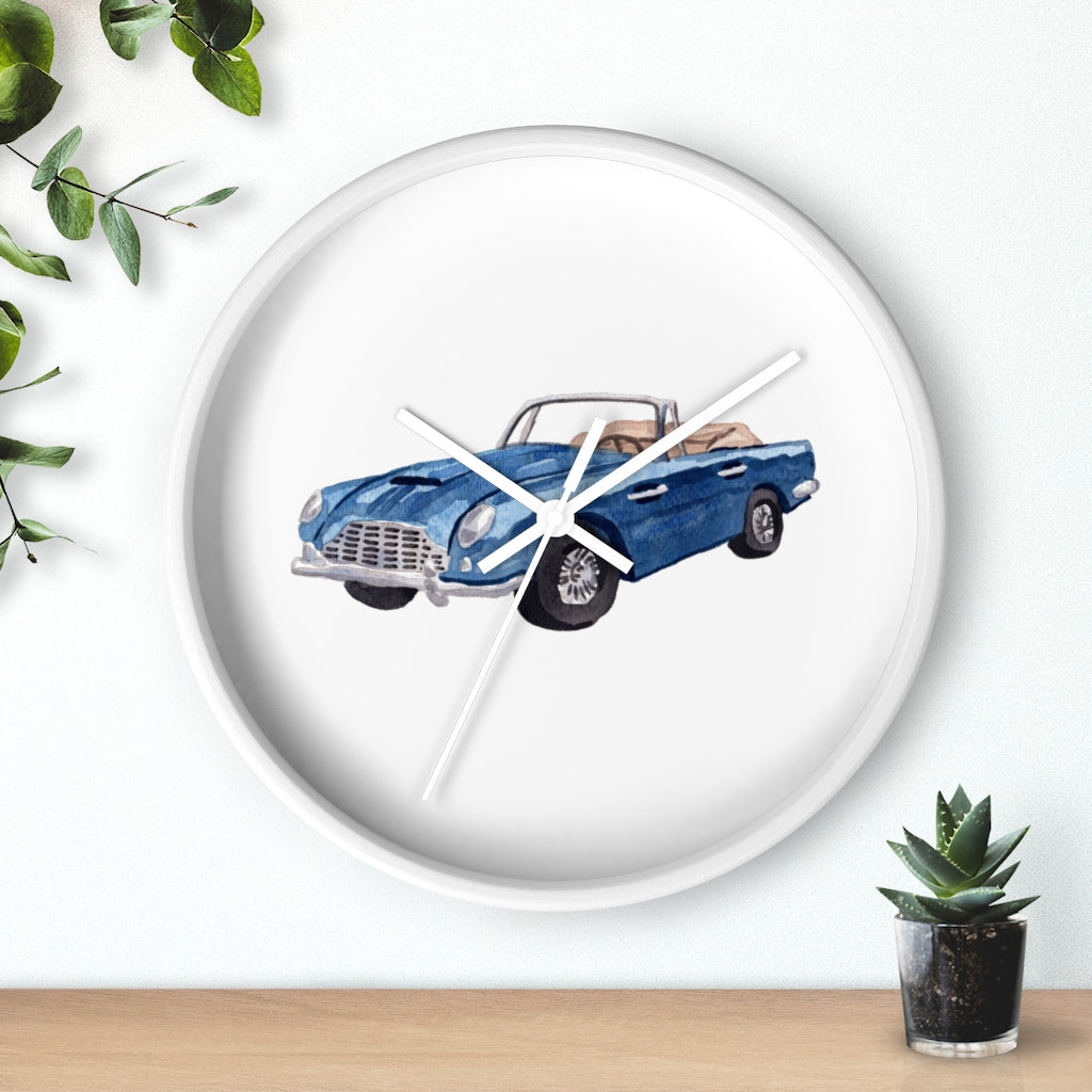 Sports Car Wall Clock