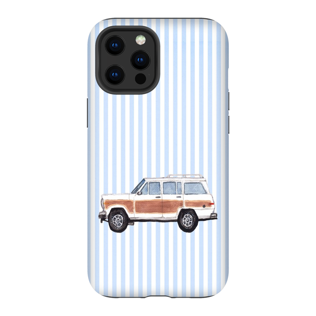 Woodie Wagon Impact Resistant Phone Case