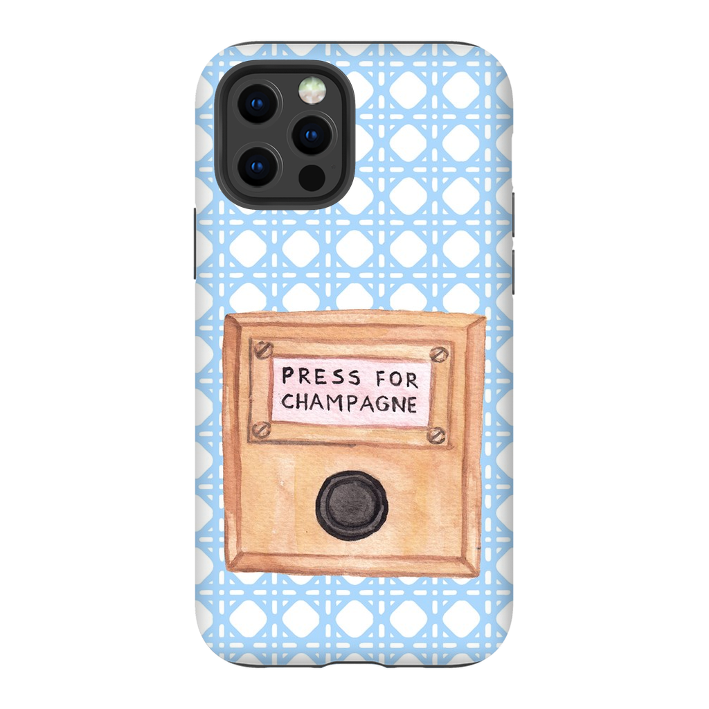 Press For Champagne Impact Resistant Phone Case