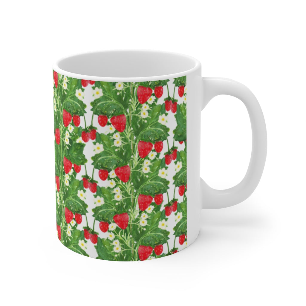 Strawberry Fields Ceramic Mug