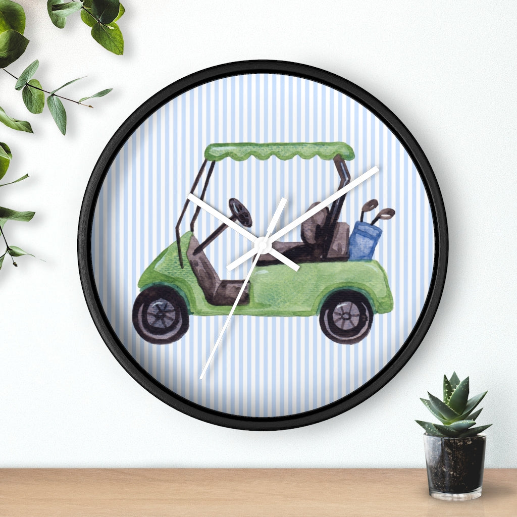 Golf Cart Wall Clock