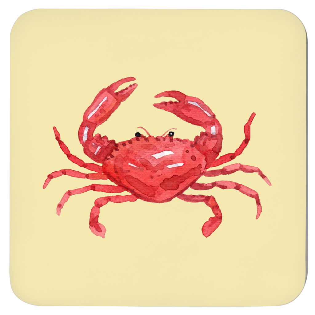 Crabby Coasters - Set of Four Assorted Colors