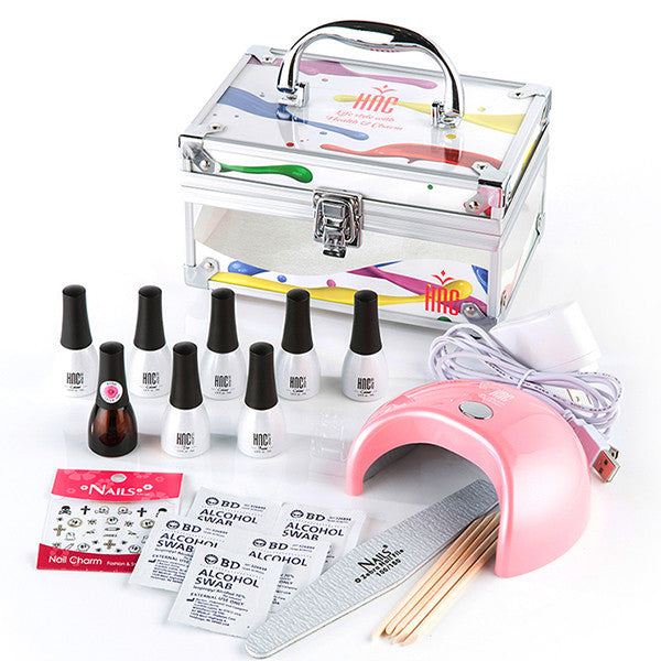 NadiaGel Soak Off Gel Nail Professional Kit