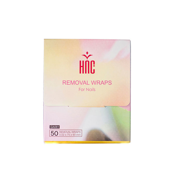 Soak Off Gel Removal Wrap (50 PCS)