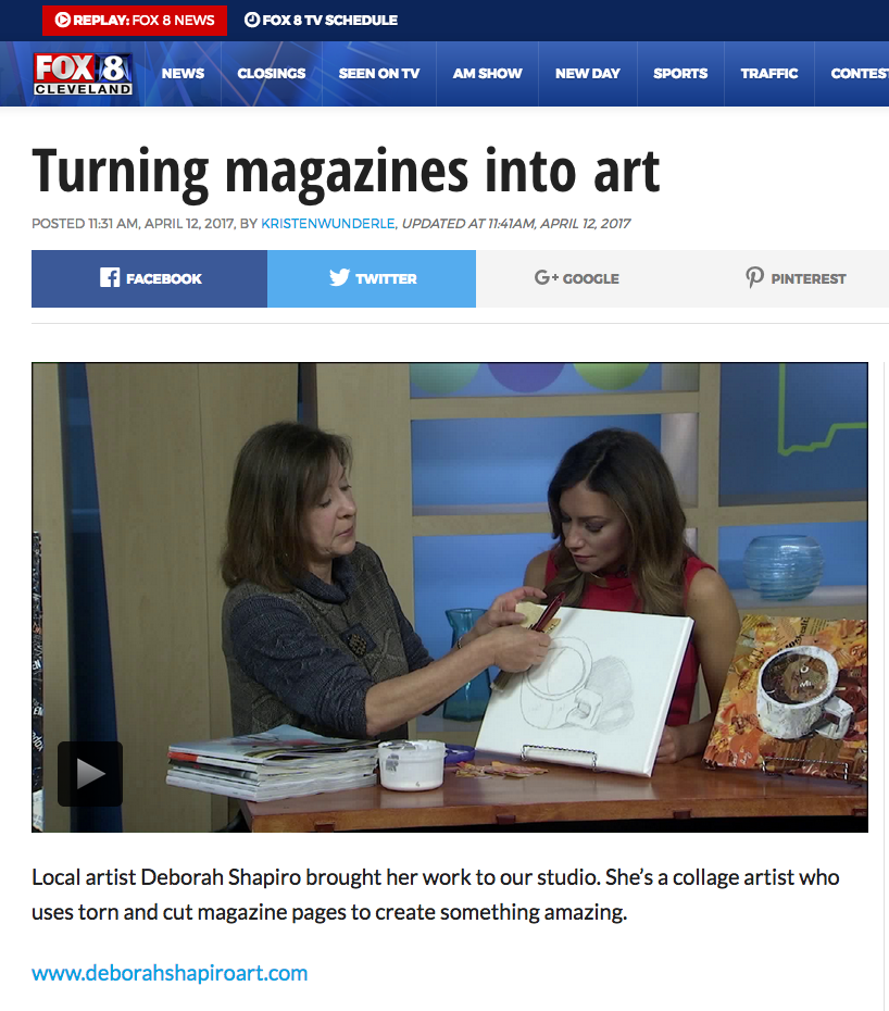 News - Fox 8 New Day Cleveland Artist