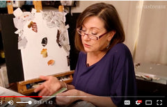 Interview with magazine collage artist Deborah Shapiro on WVIZ ideastream