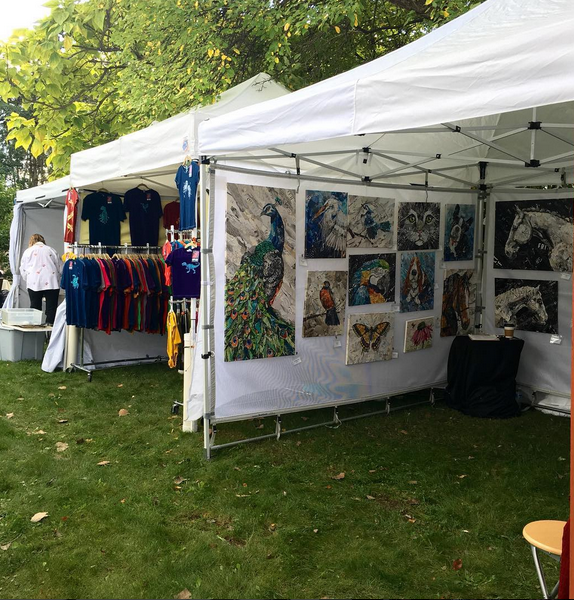 how to sell at art and craft festival shows