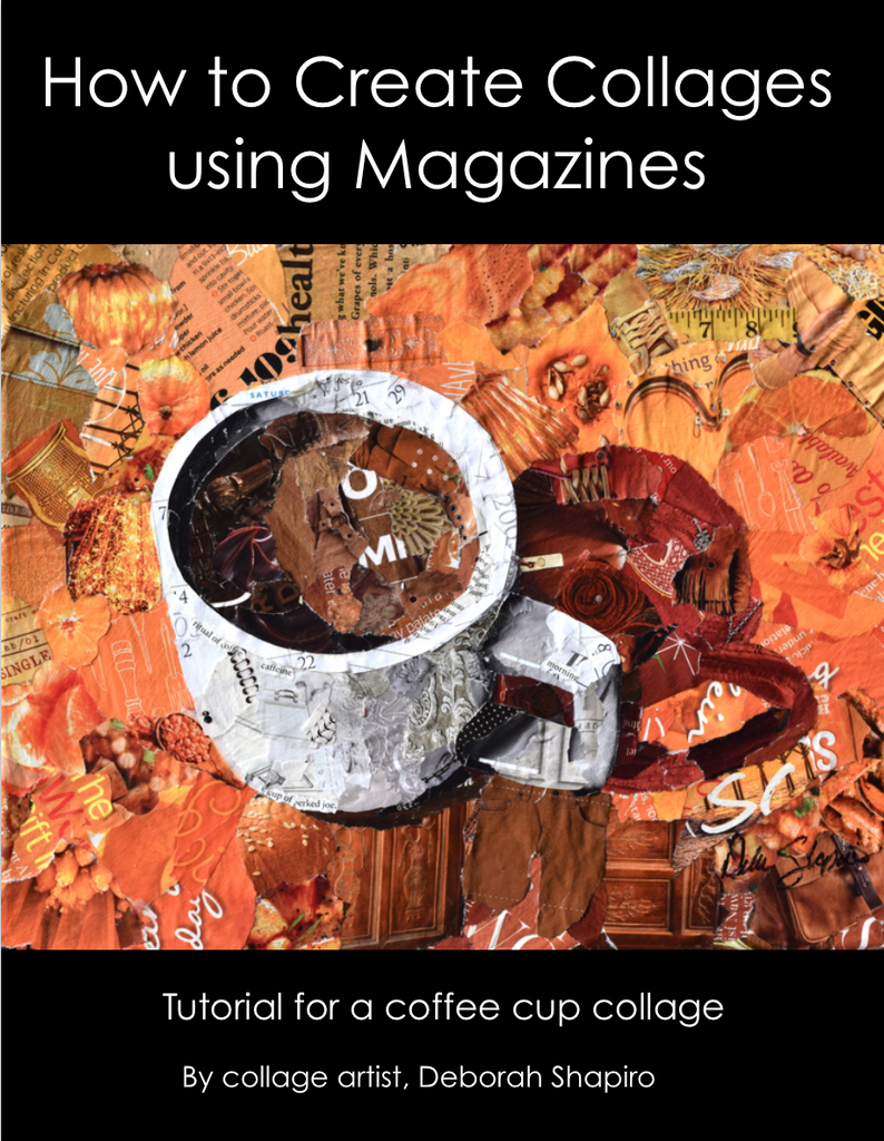 Ebook: How to make a Collage using Magazines
