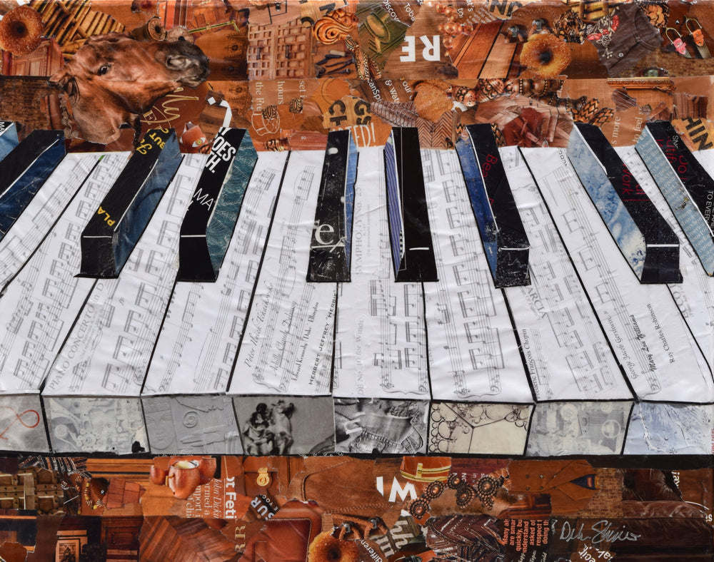 Piano music and artwork