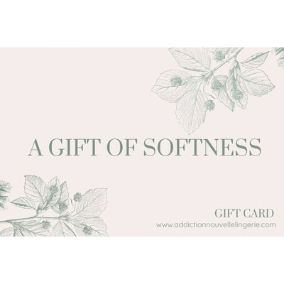 Addiction Nouvelle Lingerie Gift Card-Addiction Nouvelle Lingerie