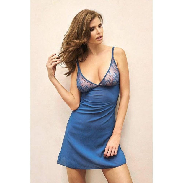 Blue Lagoon Babydoll-Addiction Nouvelle Lingerie