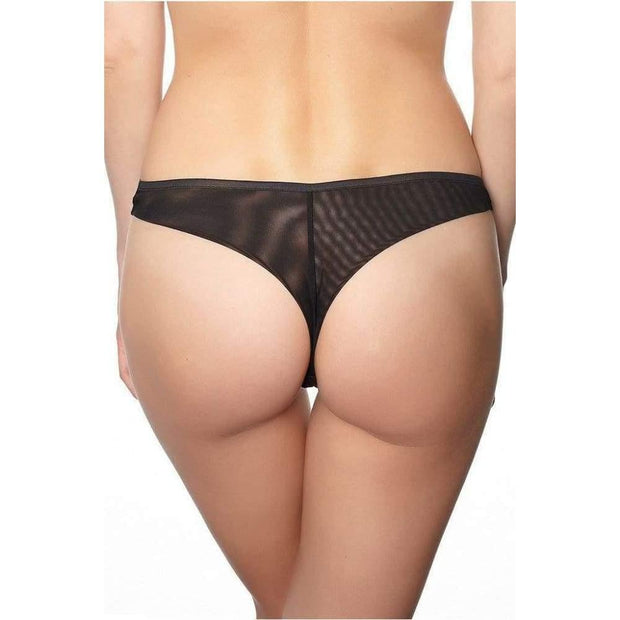 Flock Thong-Addiction Nouvelle Lingerie