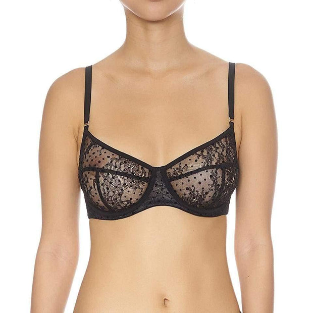 Flock Underwire Bra-Addiction Nouvelle Lingerie