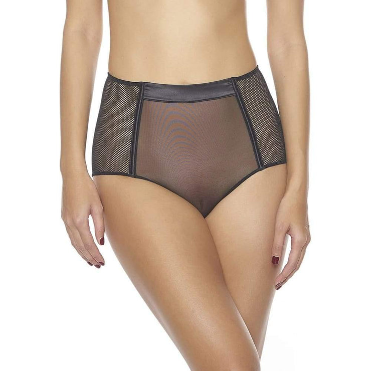 Libertine High Waisted Panty-Addiction Nouvelle Lingerie