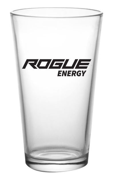 Rogue Energy Gaming Drink Pint Glass, G Fuel, GFuel, Gaming Drinks