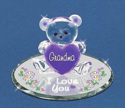 Grandma I Love You Bear ~ Great Mother's Day Gift ~ S3 151-G3