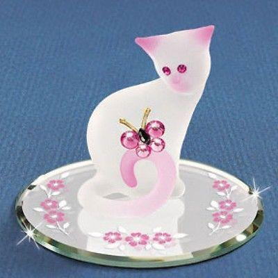 Pretty Kitty Cat with Crystal Butterfly and Eyes ~ S2 100