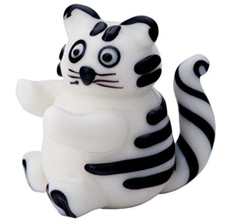 LS Arts Milano Fat Cat Glass Figurine