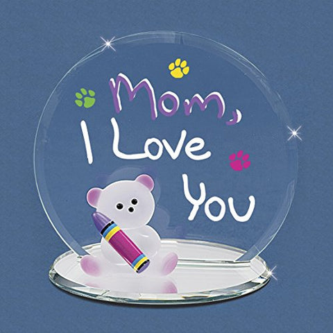 Mom I Love You Bear ~ Crayon ~ Great Gift ~ EM3 154-M