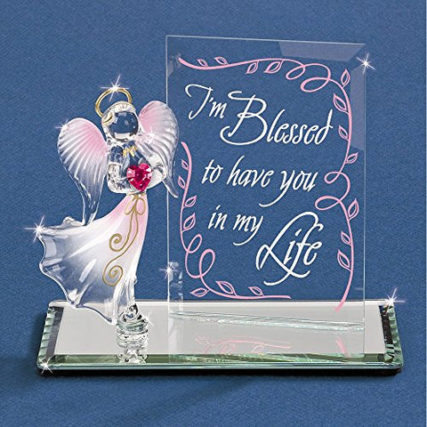 "Glass Baron ""I'm Blessed"" Angel Figurine"