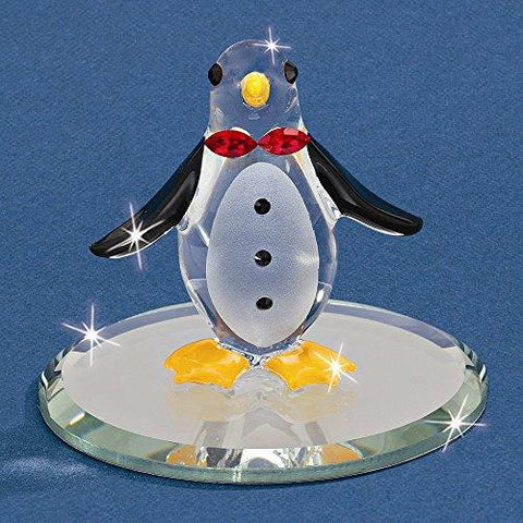 Glass Baron Mr Penguin Figurine